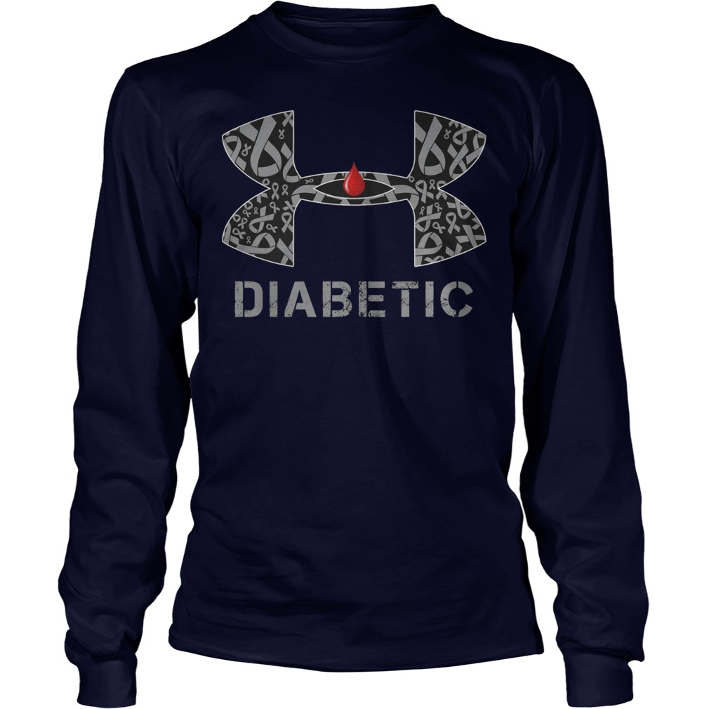 Cancer Diabetic Under Armour Longsleeve