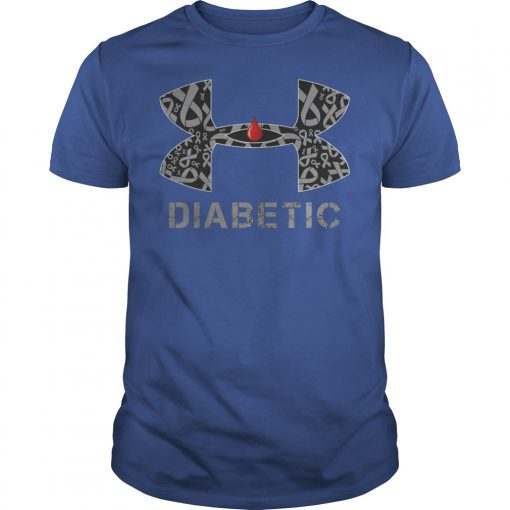 Cancer Diabetic Under Armour Shirt