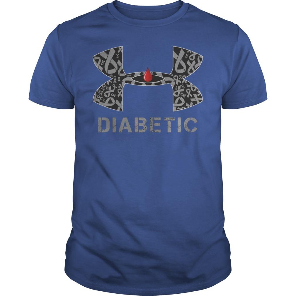 Cancer Diabetic Under Armour Shirt