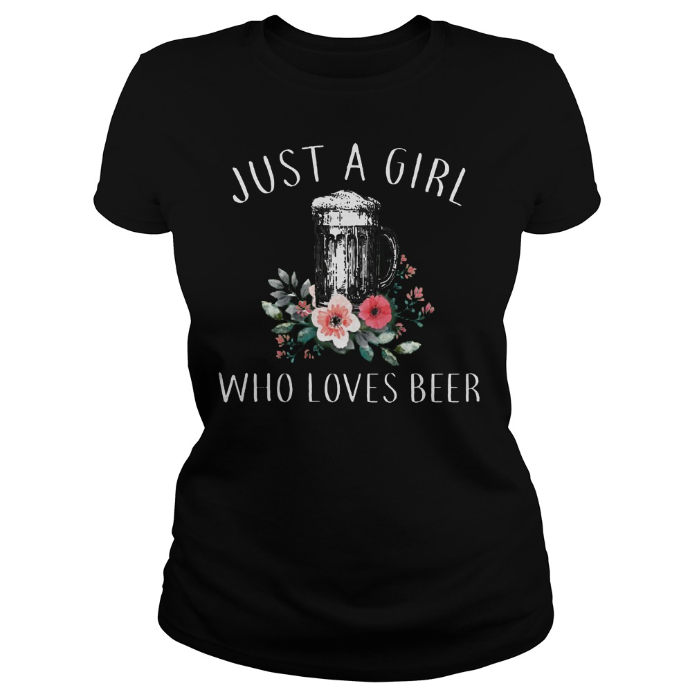 Just A Girl Who Love Beer Ladies