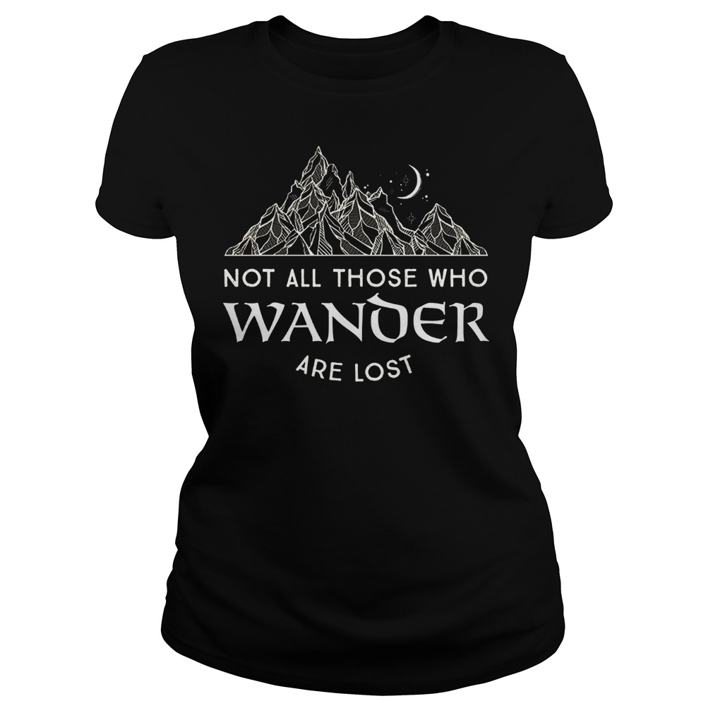 Not All Those Who Wander Are Lost Ladies
