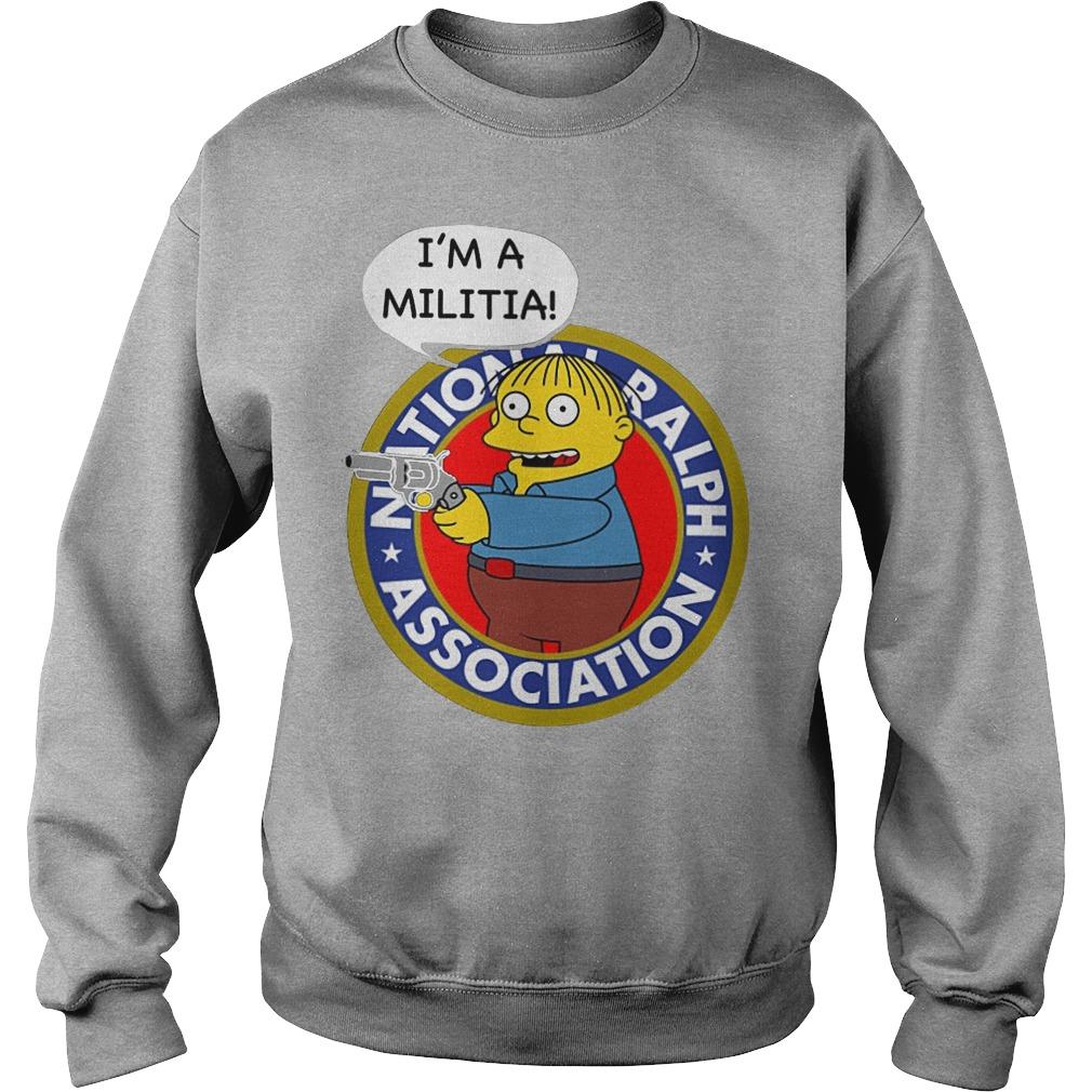Ralph Wiggum I Am A Militia Sweater
