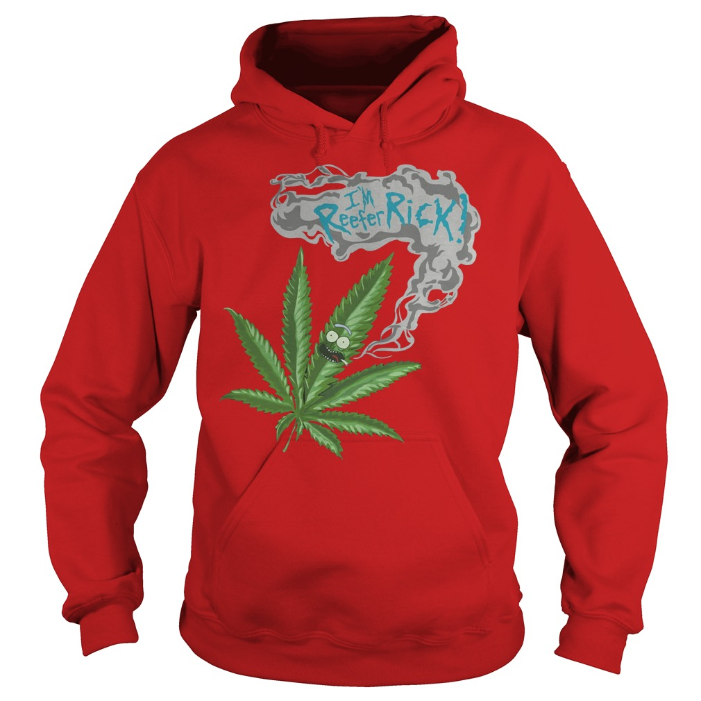 Rick And Morty I'm Reefer Rick Hoodie