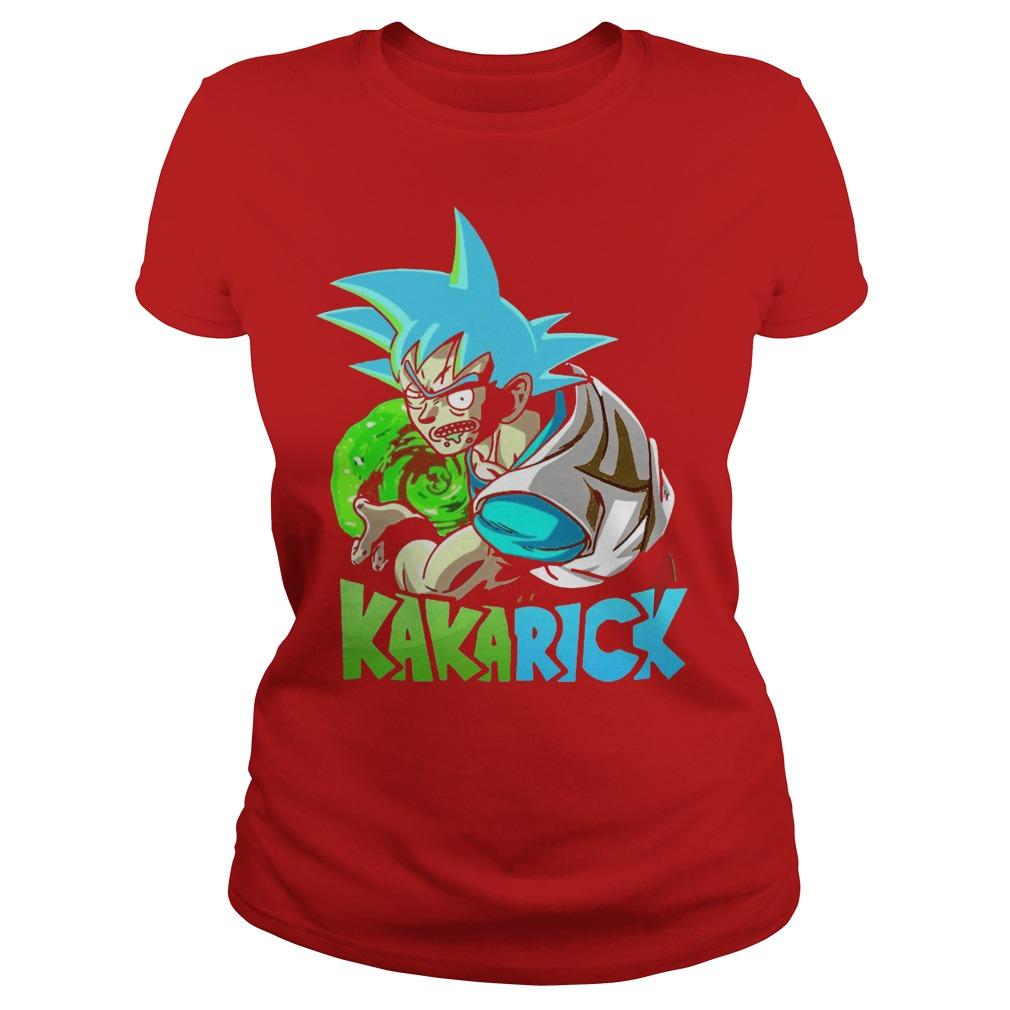 Rick Morty Dragon Ball Z Kakarick Ladies