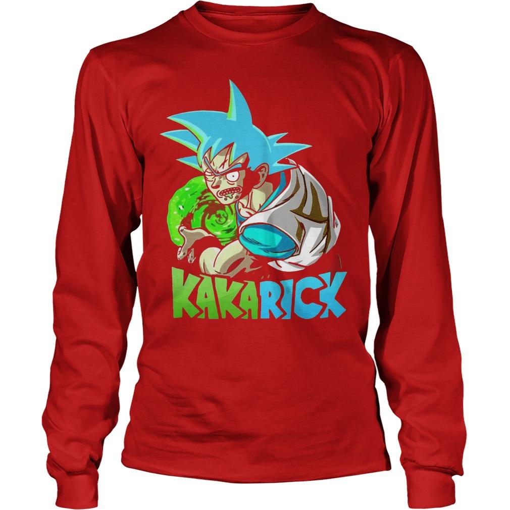 Rick Morty Dragon Ball Z Kakarick Longsleeve