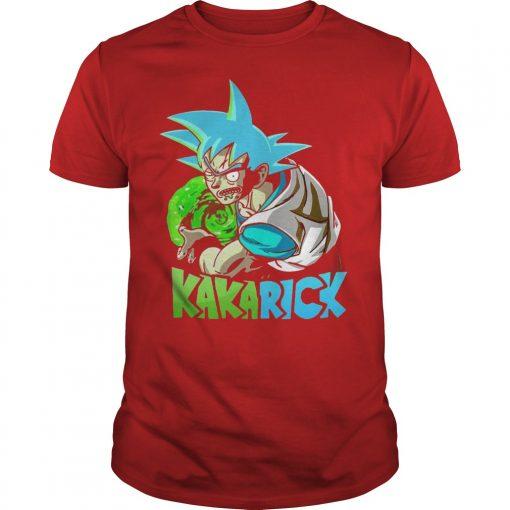 Rick Morty Dragon Ball Z Kakarick Shirt