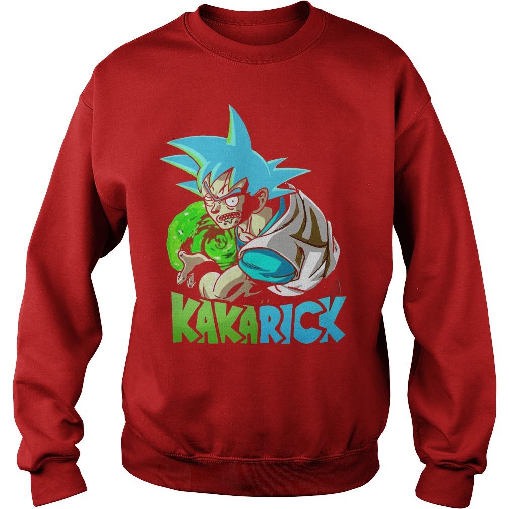 Rick Morty Dragon Ball Z Kakarick Sweater
