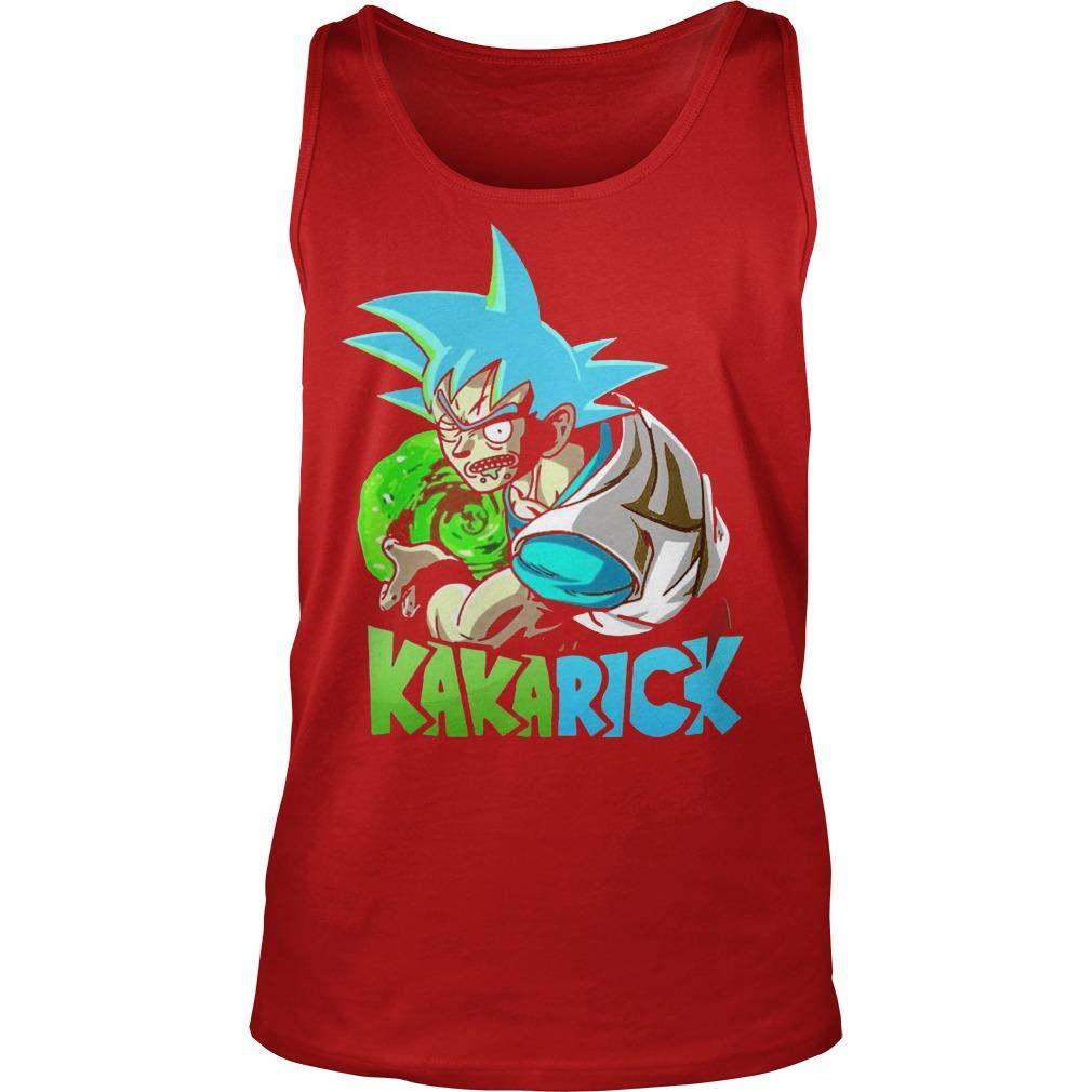 Rick Morty Dragon Ball Z Kakarick Tanktop