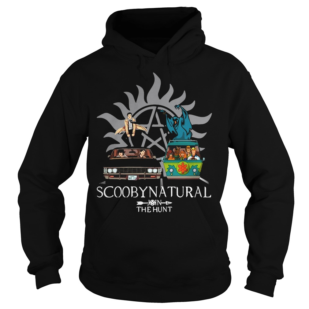 Scooby Natural Join The Hunt Hoodie