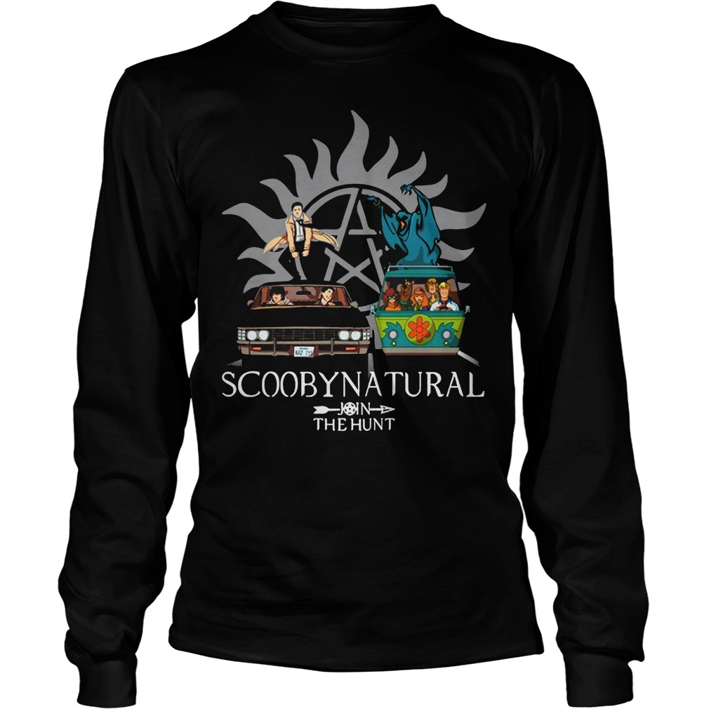 Scooby Natural Join The Hunt Longsleeve