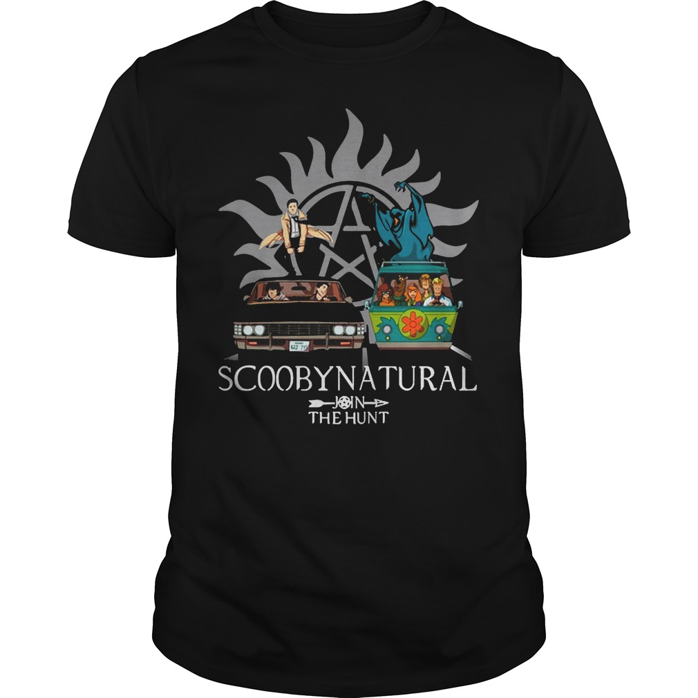 Scooby Natural Join The Hunt Shirt