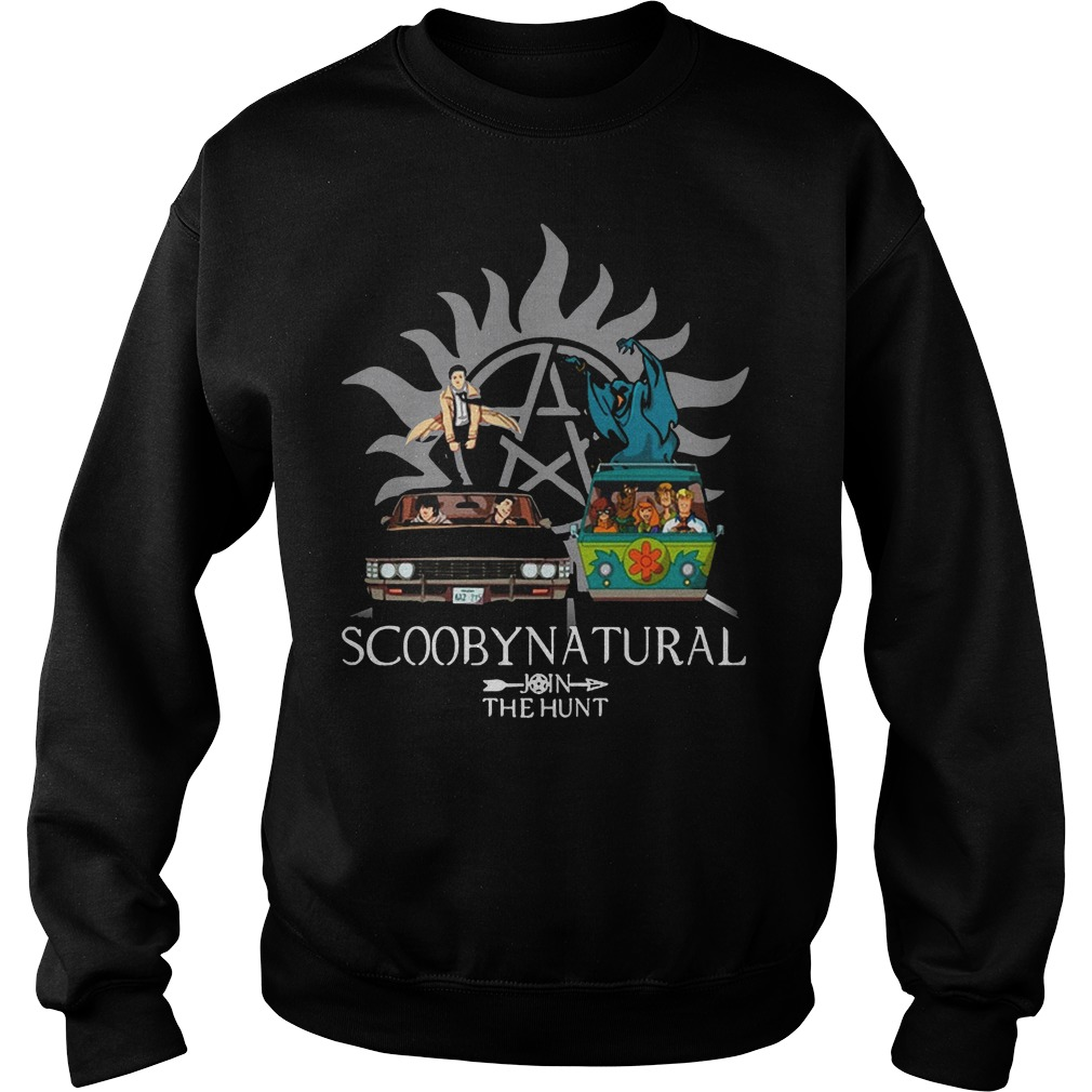 Scooby Natural Join The Hunt Sweater