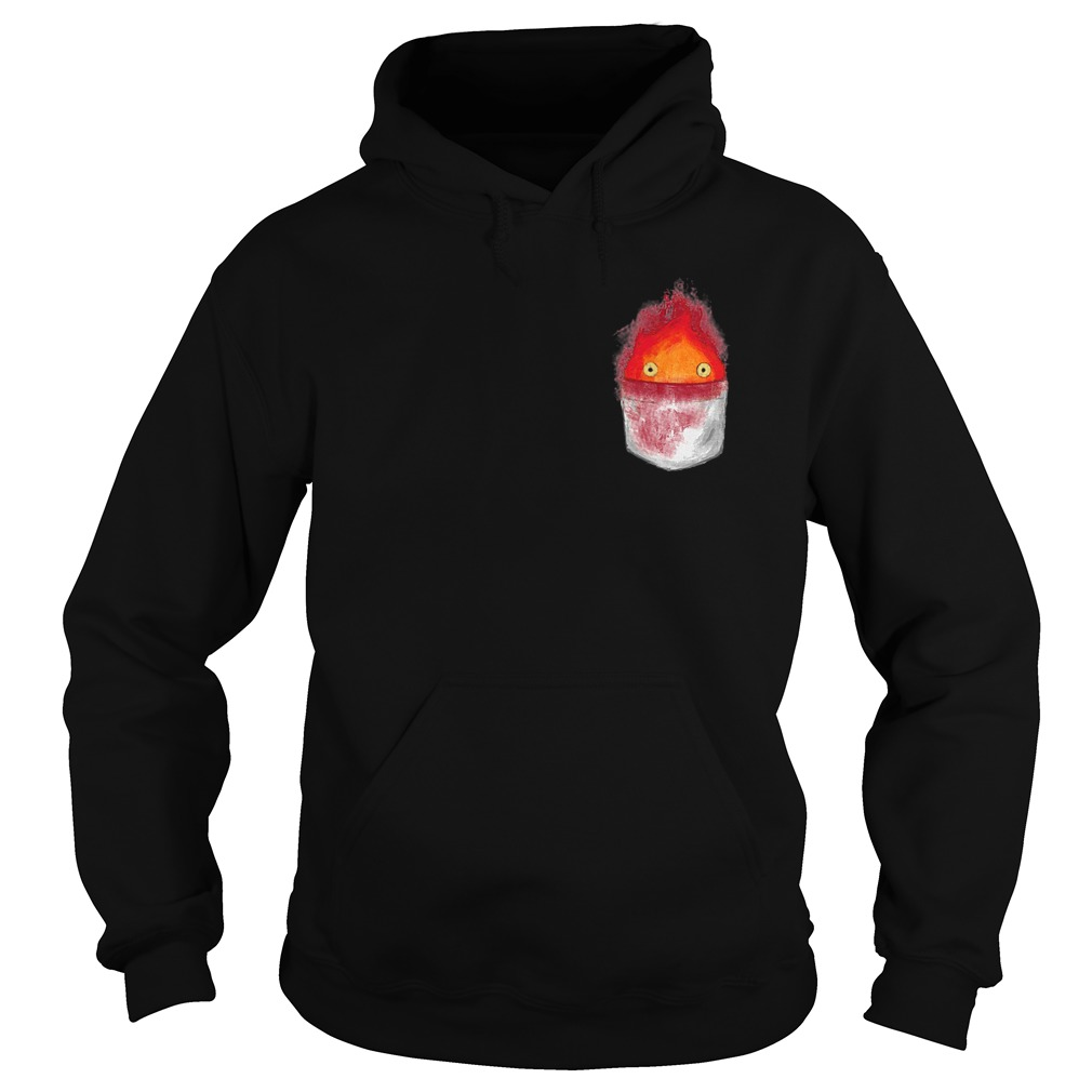 Spirit World Ghibli Pocket Fire Hoodie