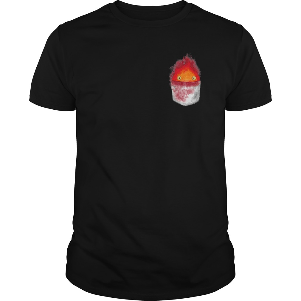 Spirit World Ghibli Pocket Fire Shirt