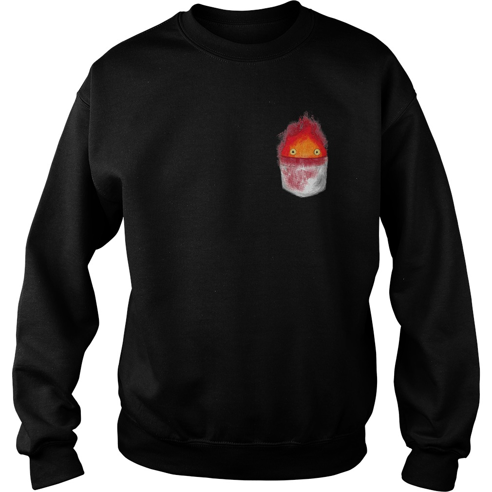 Spirit World Ghibli Pocket Fire Sweater