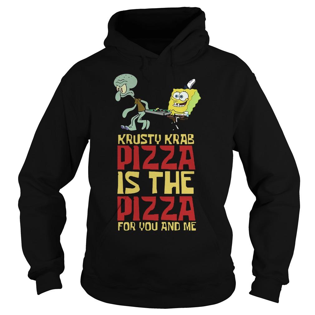Spongebob Squarepant Krusty Krab Pizza Shirt Hoodies