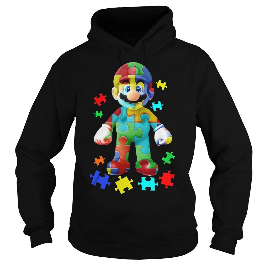 Super Mario Autism Awareness Shirt Hoodie