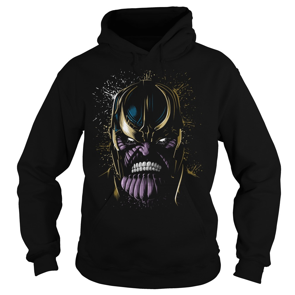 The Face Of Thanos Hoodie