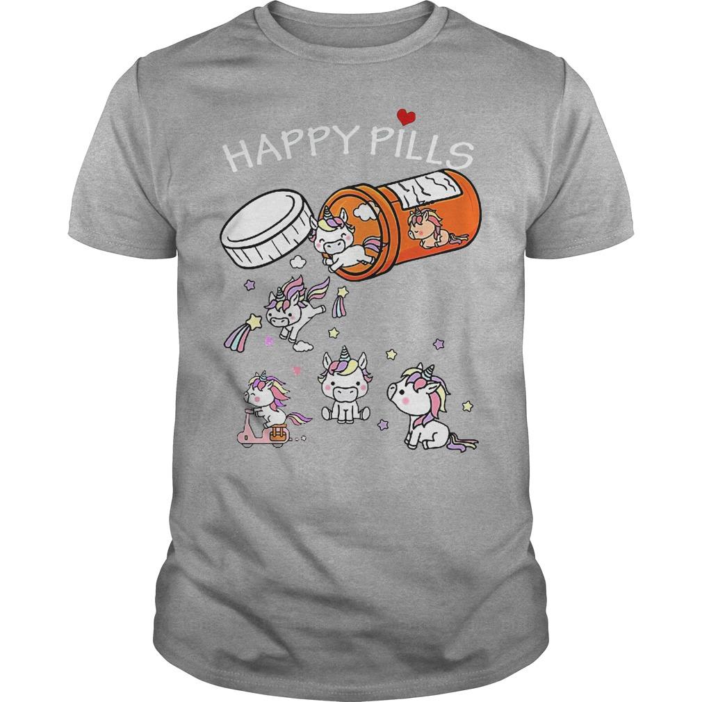Unicorn Happy Pills Shirt