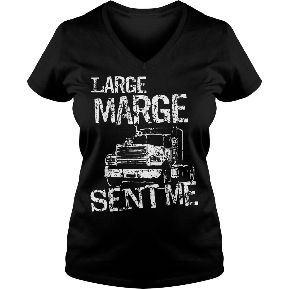 Large Marge Sent Me V Neck