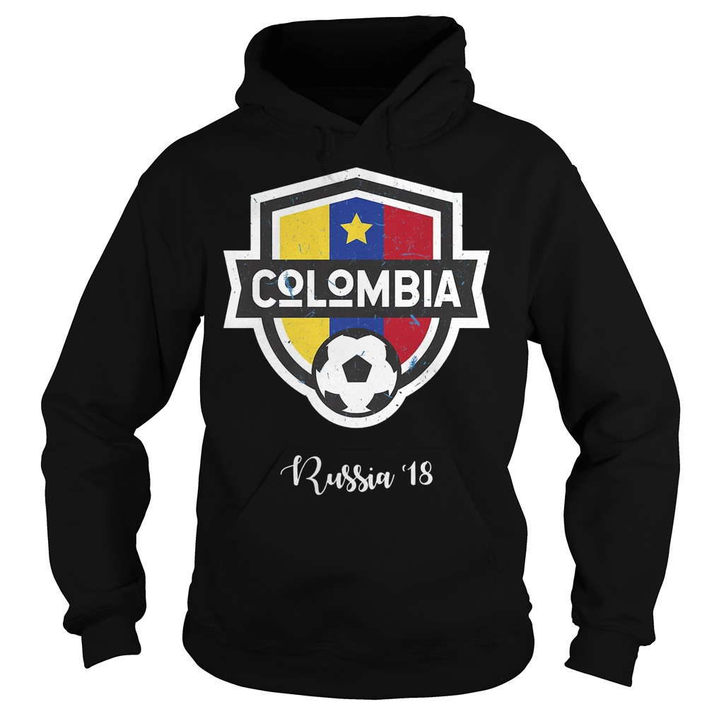 Colombia Jersey Russia World Cup 2018 Hoodie