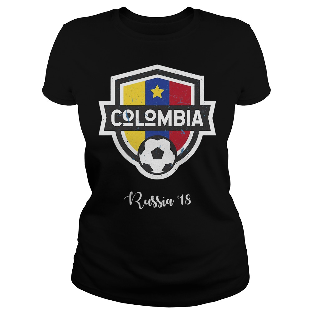 Colombia Jersey Russia World Cup 2018 Ladies
