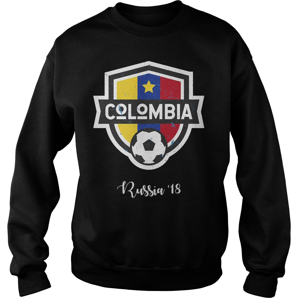 Colombia Jersey Russia World Cup 2018 Sweater