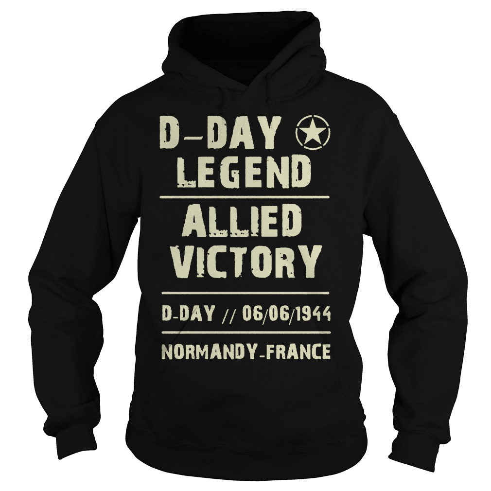 D Day Legend Allied Victory 06061944 Hoodie