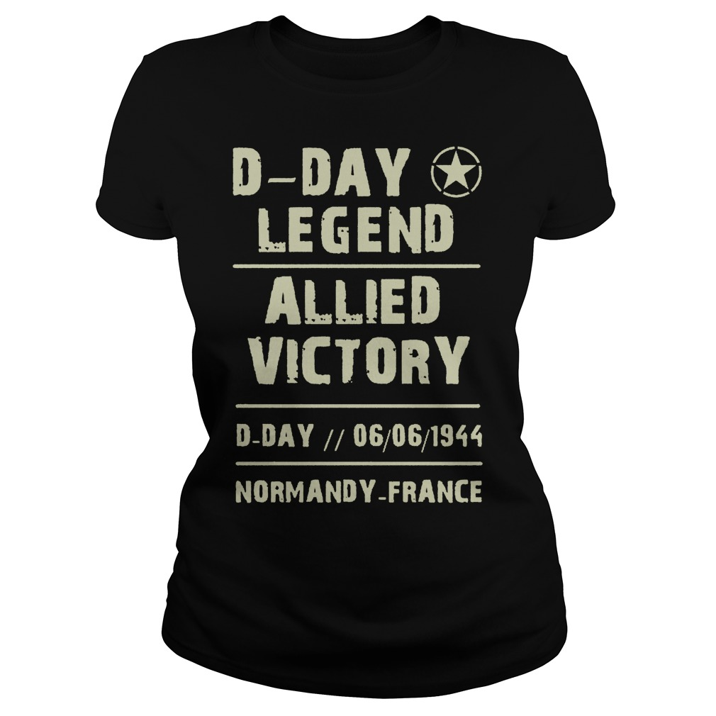 D Day Legend Allied Victory 06061944 Ladies