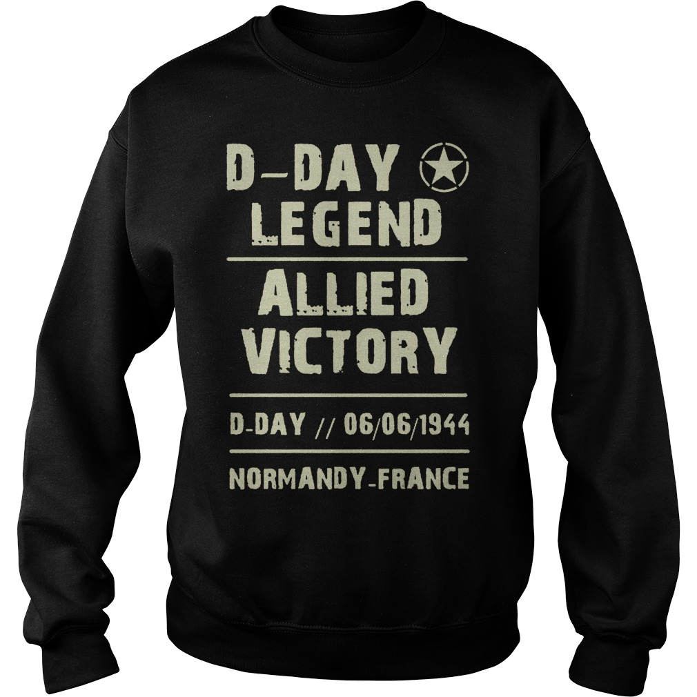 D Day Legend Allied Victory 06061944 Sweater