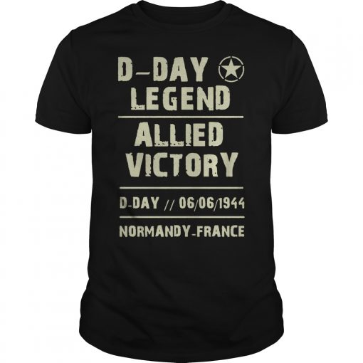 D Day Legend Allied Victory 06061944 T Shirt