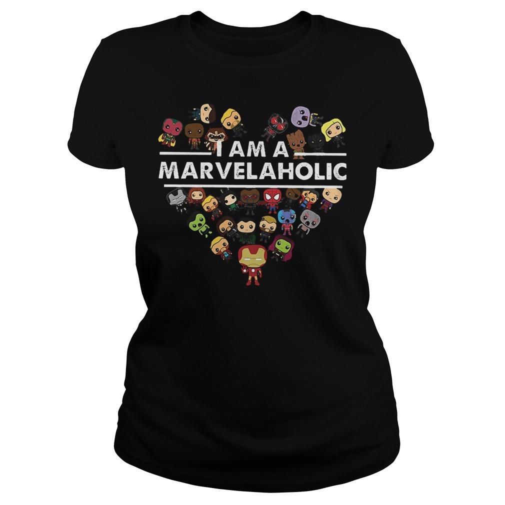 Marvel Aholic I Am A Marvelaholic Ladies