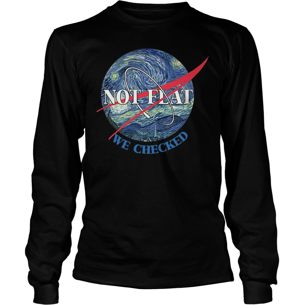 Science Not Flat We Checked Longsleeve