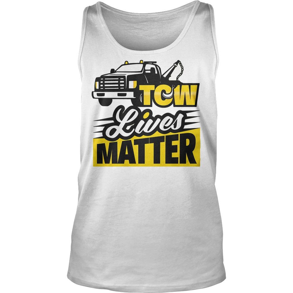 Tow Lives Matter Tanktop