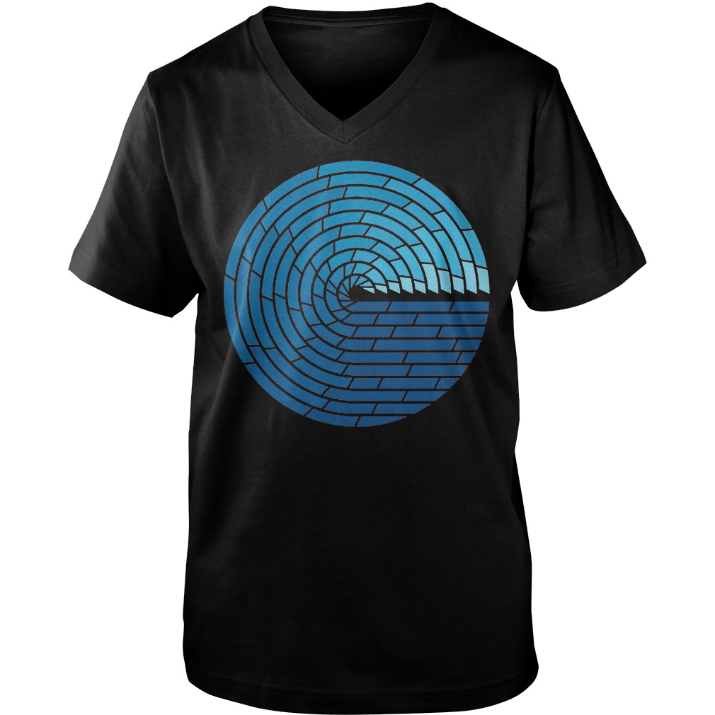 Almighty Ocean T-Shirt Guys V-Neck