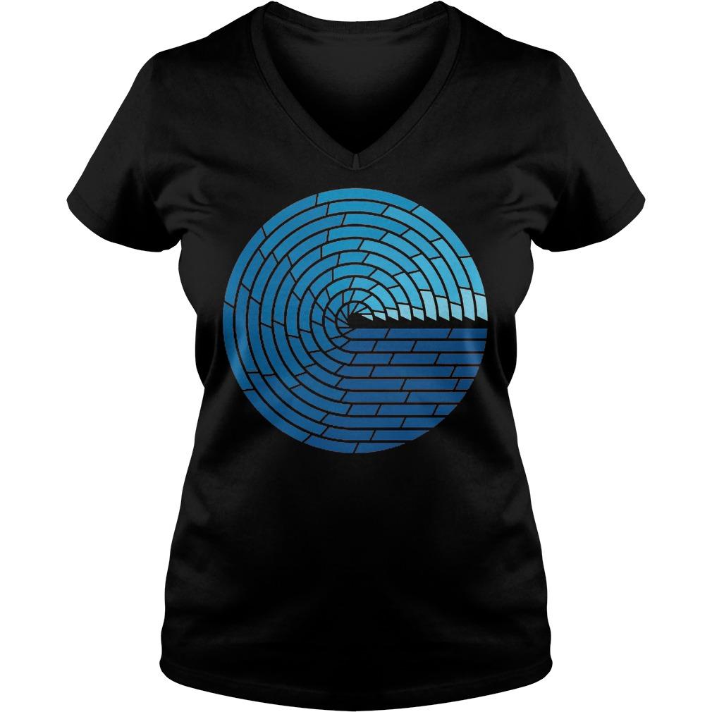 Almighty Ocean T-Shirt Ladies V-Neck
