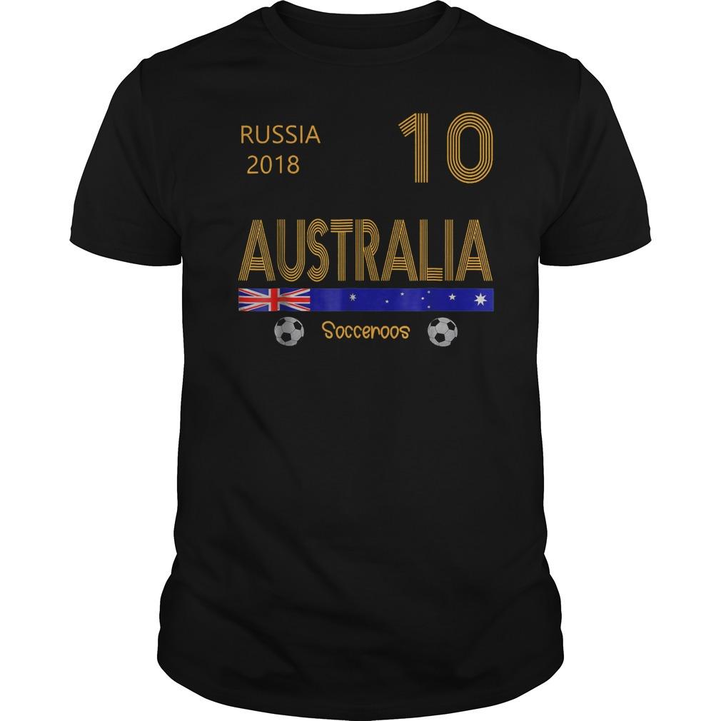 Australia Soccer World Cup 2018 T Shirt Guys Tee 10.jpg