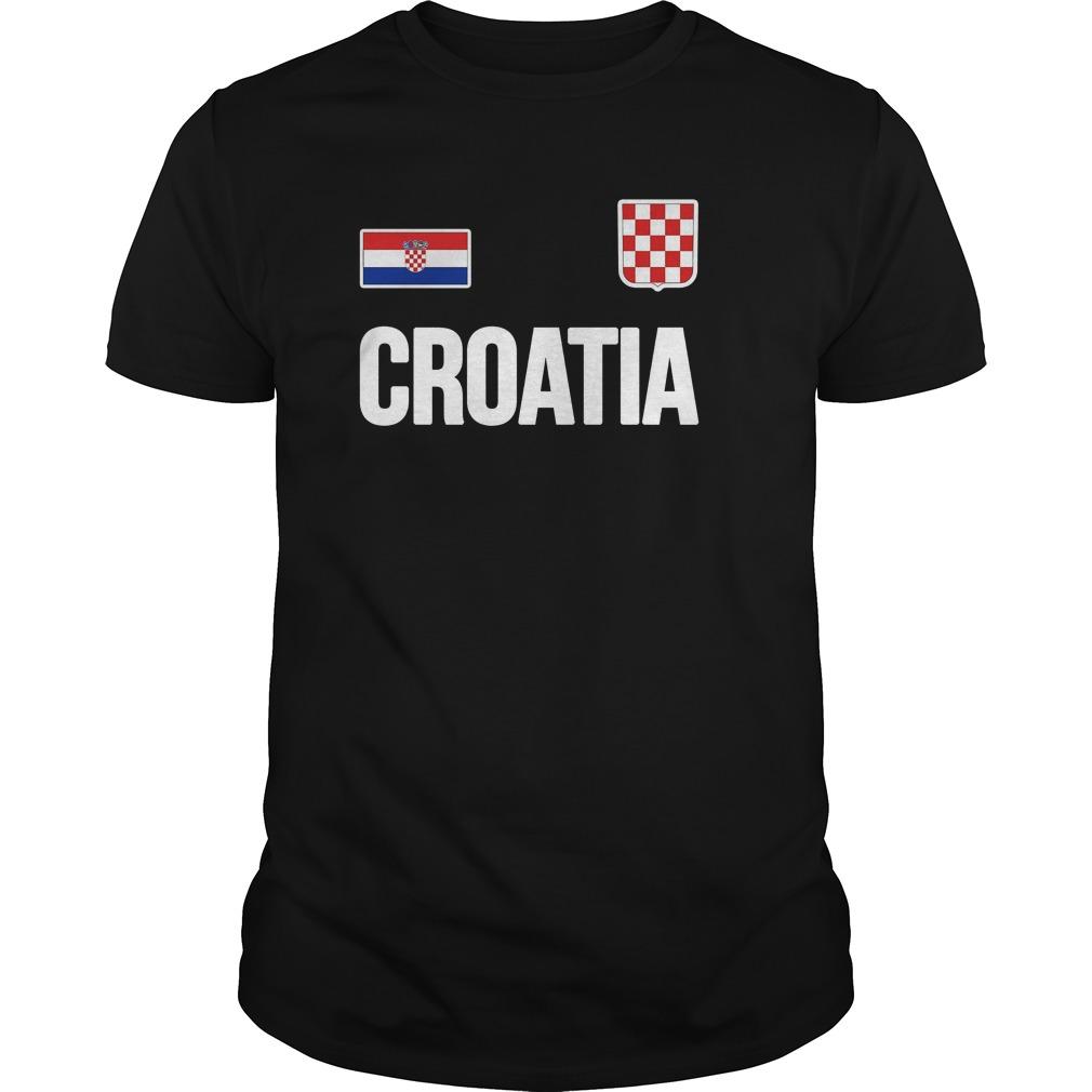 Croatian Flag Hrvatska World Cup 2018 T Shirt Guys Tee 1.jpg