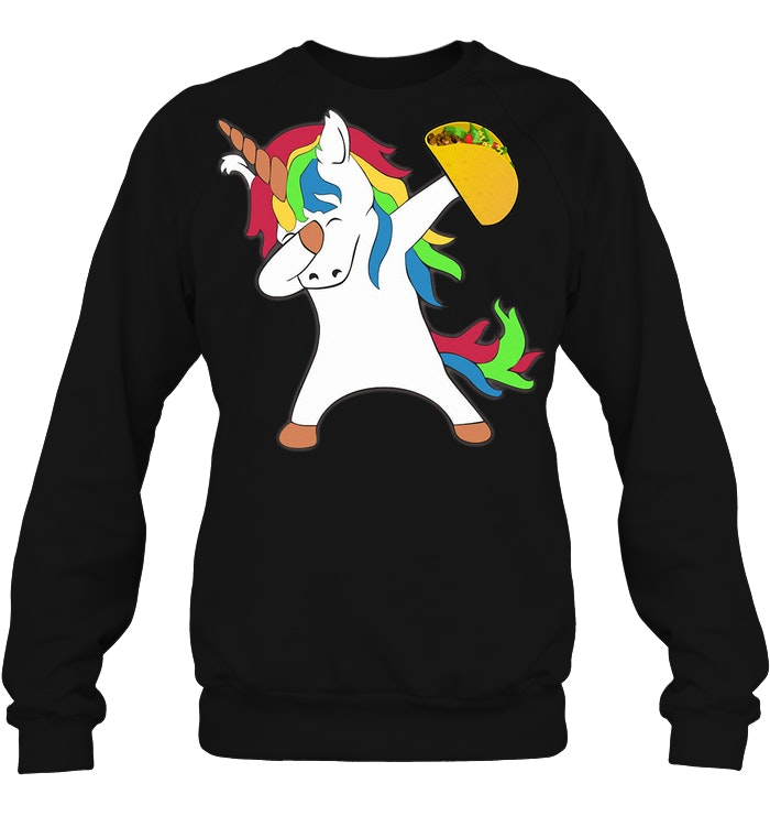 Dabbing Unicorn Taco Sweater