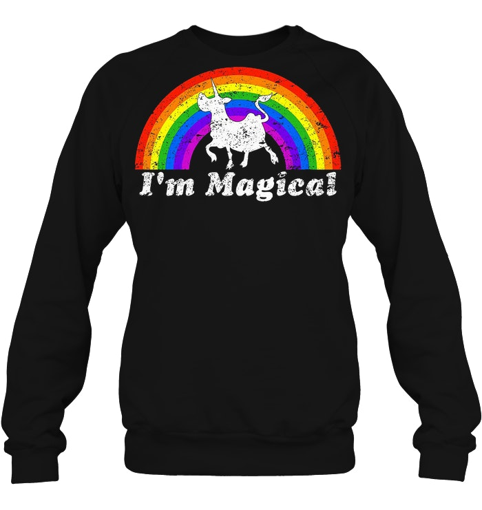 I'm Magical Rainbow Unicow Sweater