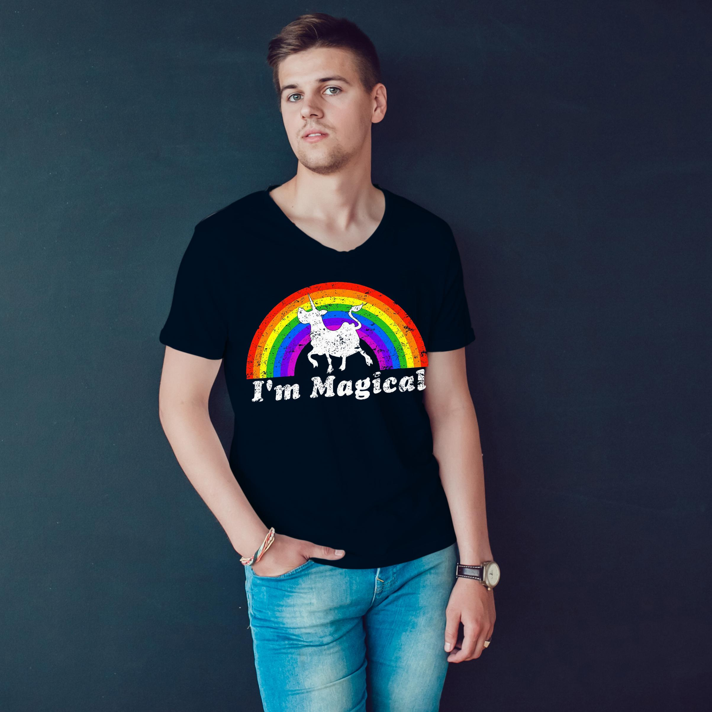 I'm Magical Rainbow Unicow T Shirt