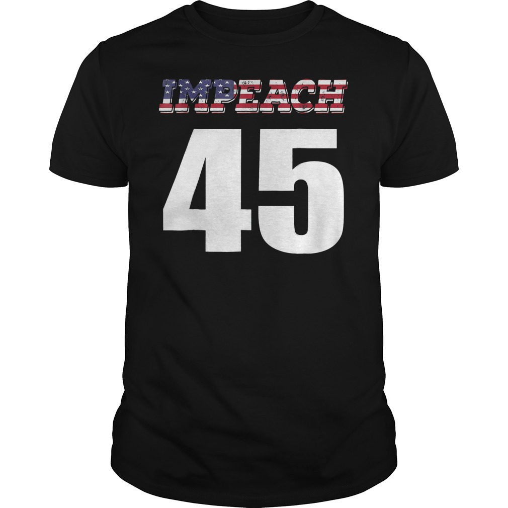 Impeach 45 Anti Trump America Flag T Shirt Guys Tee.jpg