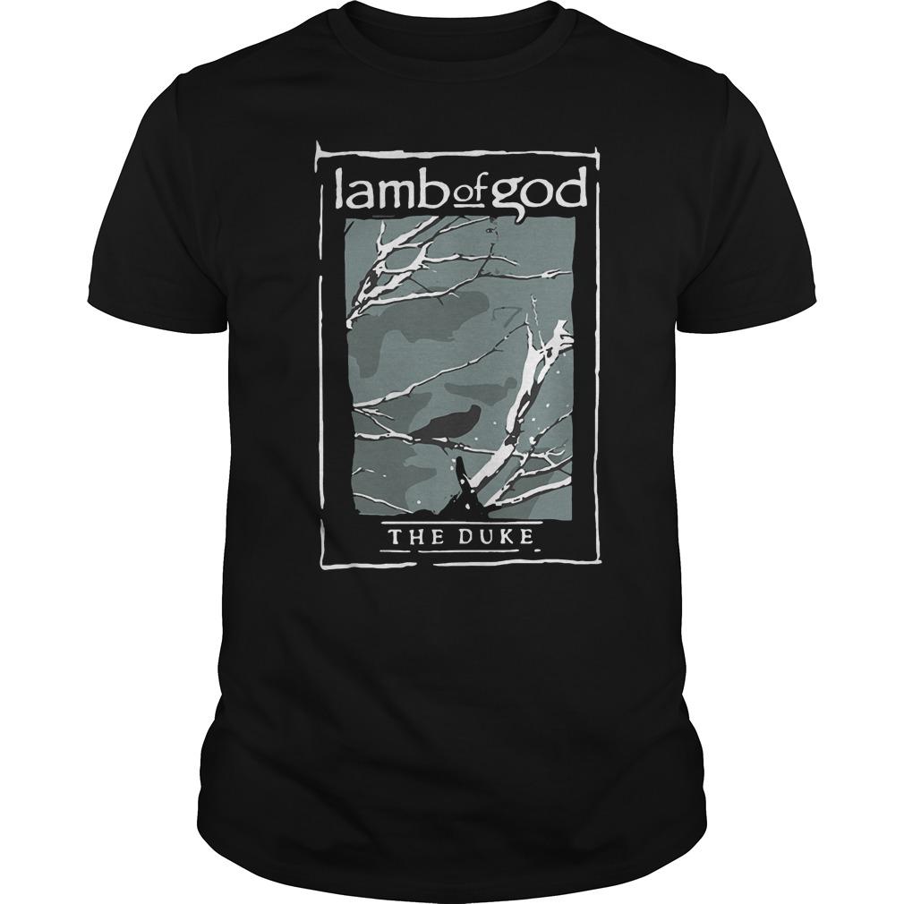 Lamb Of God The Duke Heavy Metal T-Shirt Classic Guys / Unisex Tee