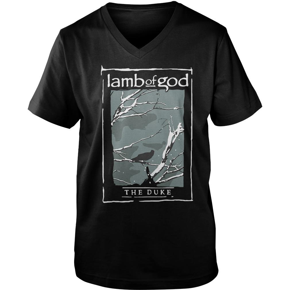 Lamb Of God The Duke Heavy Metal T-Shirt Guys V-Neck