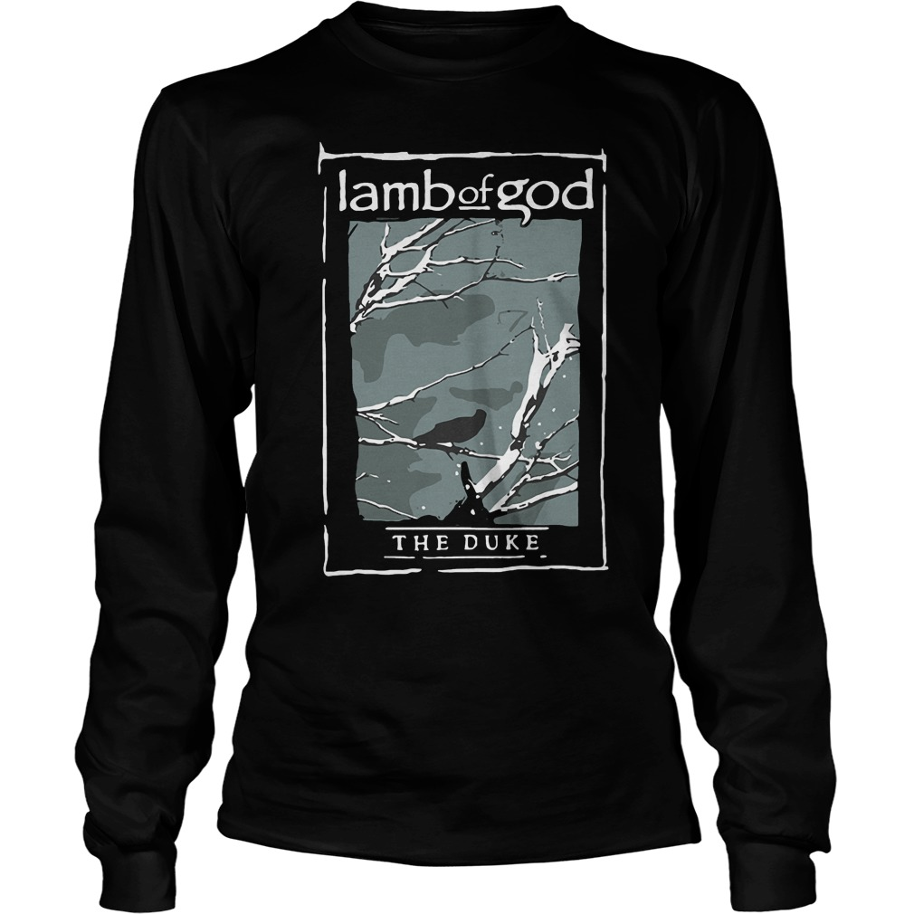 Lamb Of God The Duke Heavy Metal T-Shirt Longsleeve Tee Unisex