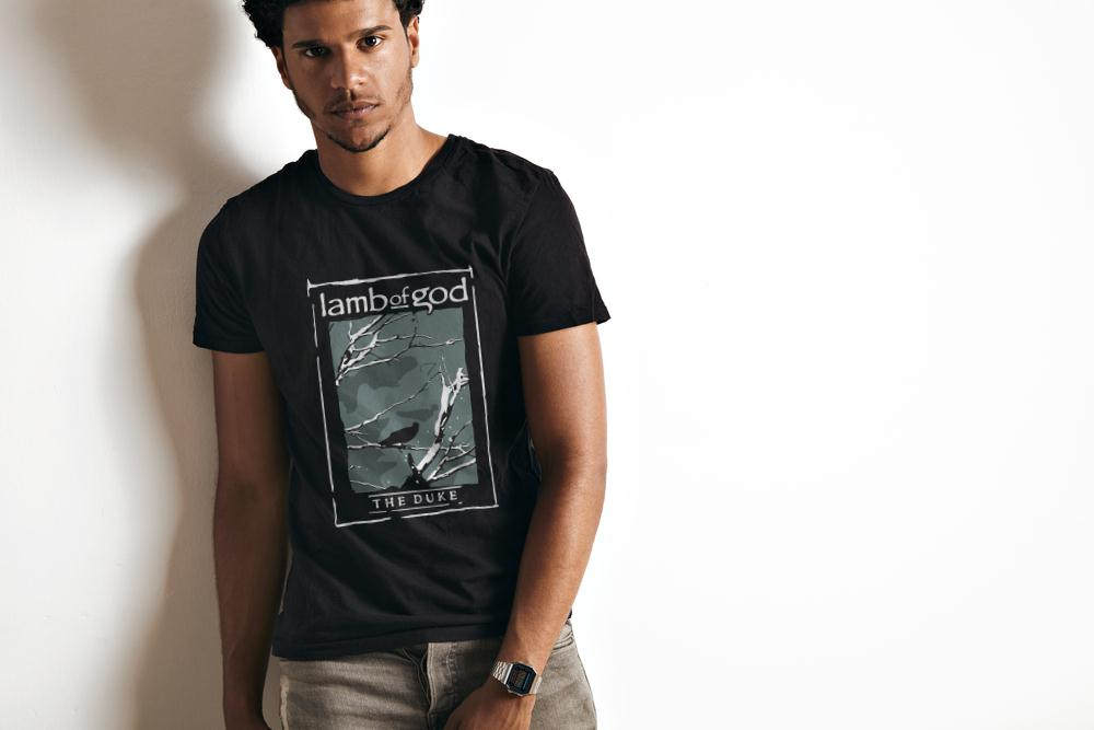 Lamb Of God The Duke Heavy Metal T Shirt