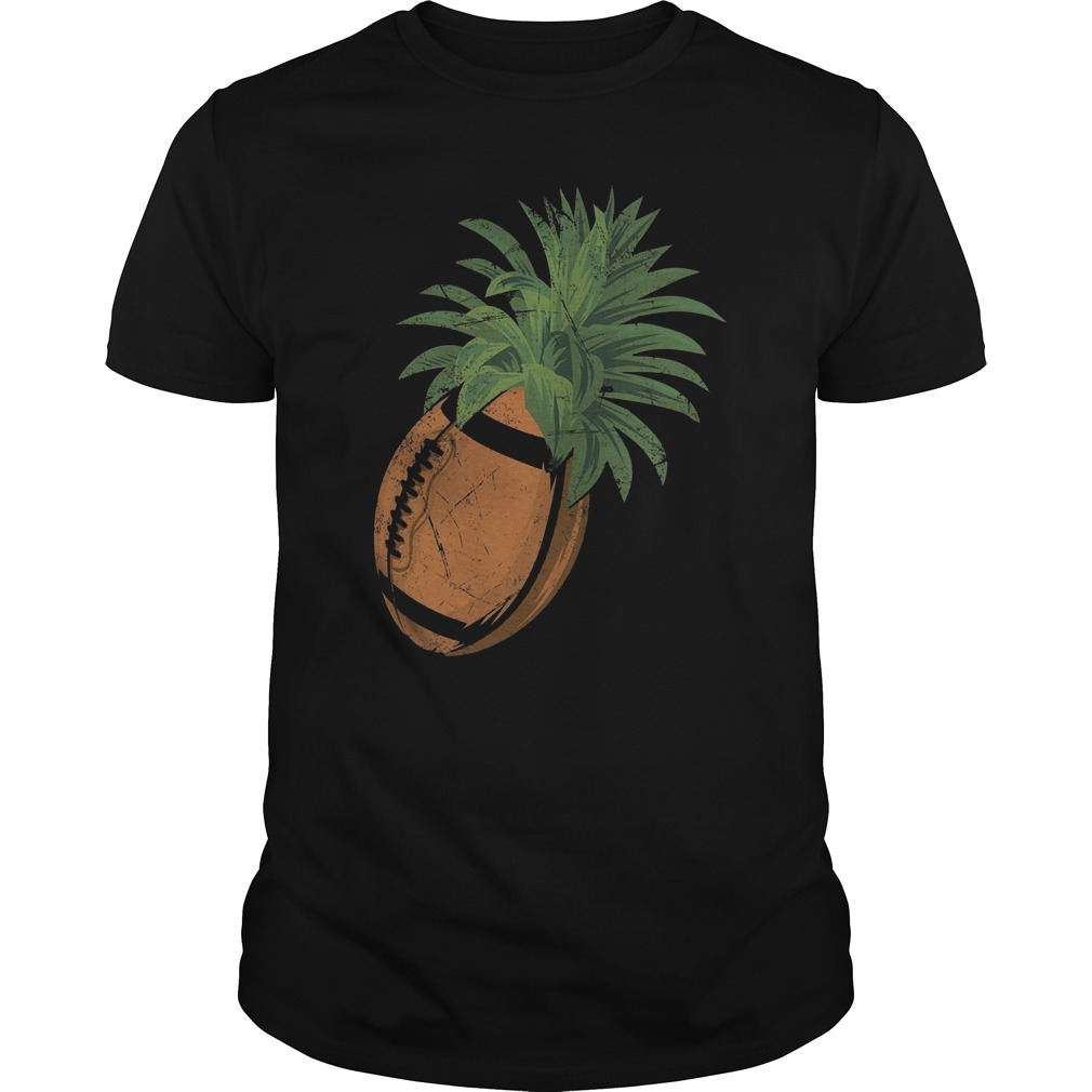 Pineapple Football T-Shirt Classic Guys / Unisex Tee