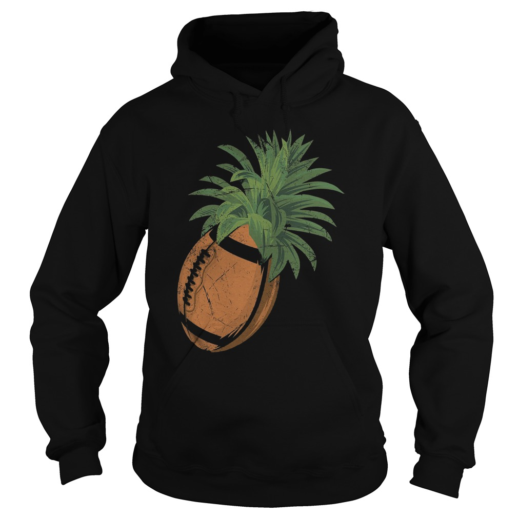 Pineapple Football T-Shirt Hoodie