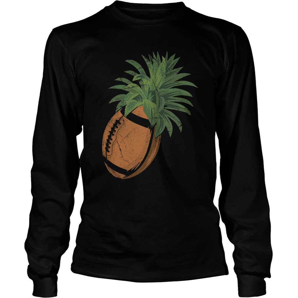 Pineapple Football T-Shirt Longsleeve Tee Unisex