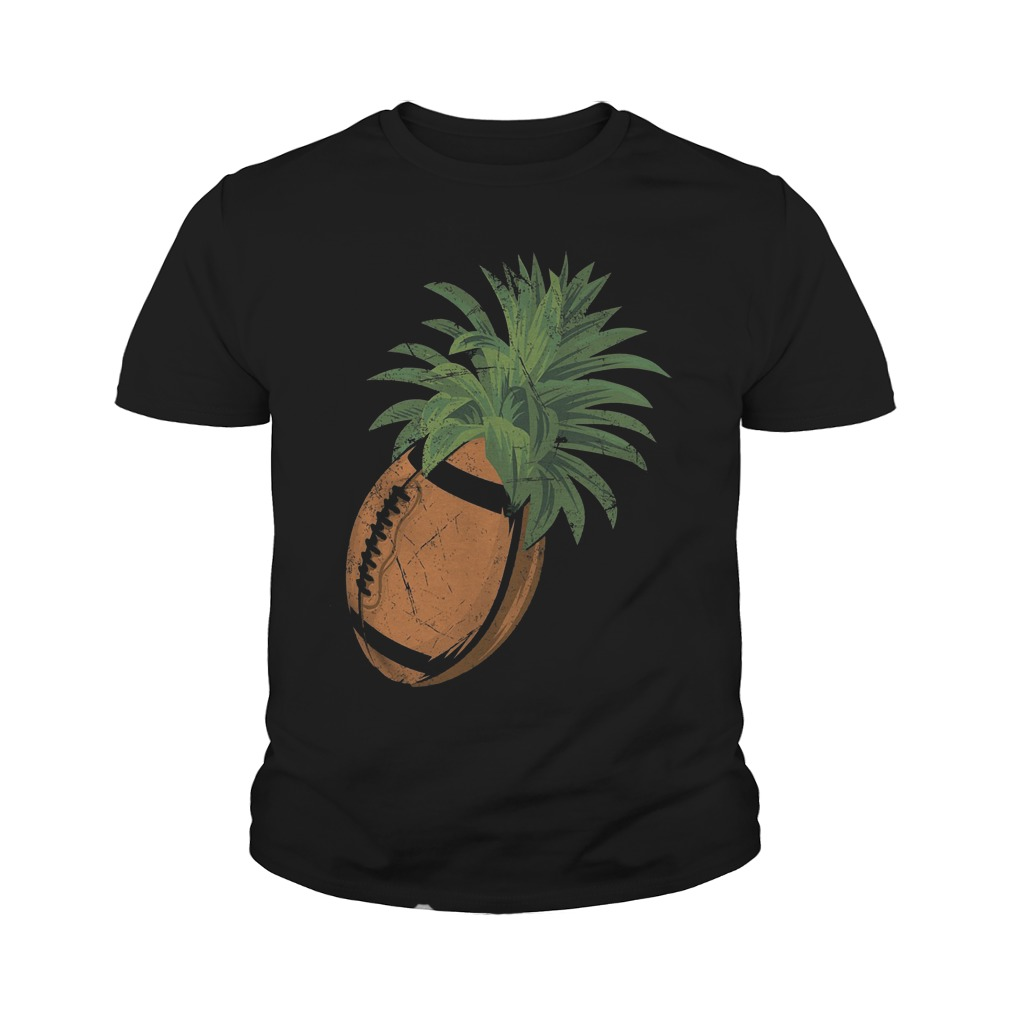 Pineapple Football T-Shirt Youth Tee